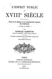L'esprit public ou XVIIIe siècle