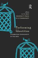 Performing Identities PDF