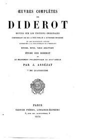 Oeuvres complètes de Diderot: Encyclopédie