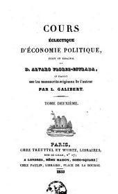 Cours éclectique d'économie politique: Volume2