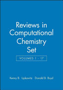 Reviews in Computational Chemistry  Volumes 1   17 Set PDF