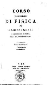 Corso elementare di fisica di Ranieri Gerbi: 1, Volume 1