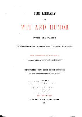 The Library of Wit and Humor  Prose and Poetry