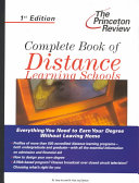 Complete Book of Distance Learning Schools PDF