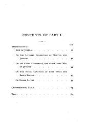 Thirteen Satires of Juvenal: Volumes 1-2