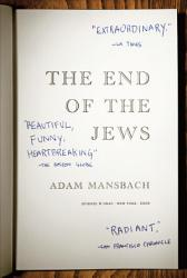The End Of The Jews PDF