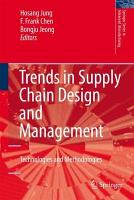 Trends in Supply Chain Design and Management PDF