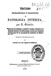 Tratado elemental y practico de patología interna: Volumen 3