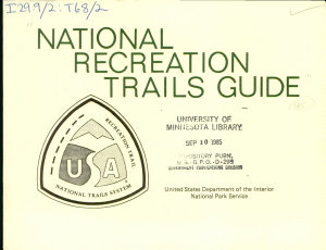 National Recreation Trails Guide PDF
