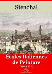 Écoles italiennes de peinture – tome i, ii et iii: Nouvelle édition augmentée