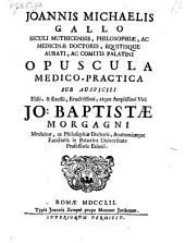 Opuscula medico-practica