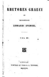 Rhetores Graeci: Volume 3