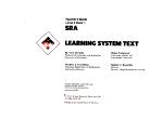 SRA Mathematics Learning System Text PDF