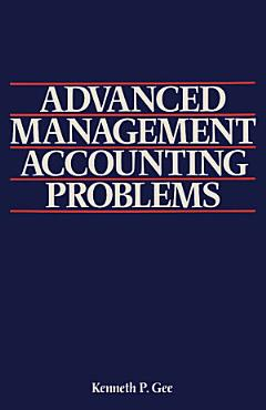 Advanced Management Accounting Problems PDF