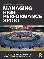 Managing High Performance Sport