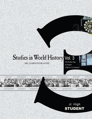 Studies in World History Volume 3  Student  PDF