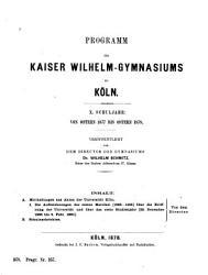 Mittheilungen aus akten der Universit  t K  ln PDF