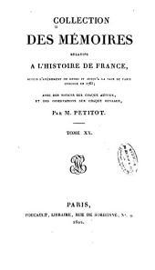 Collection des mémoires relatifs à lh̓istoire de France...
