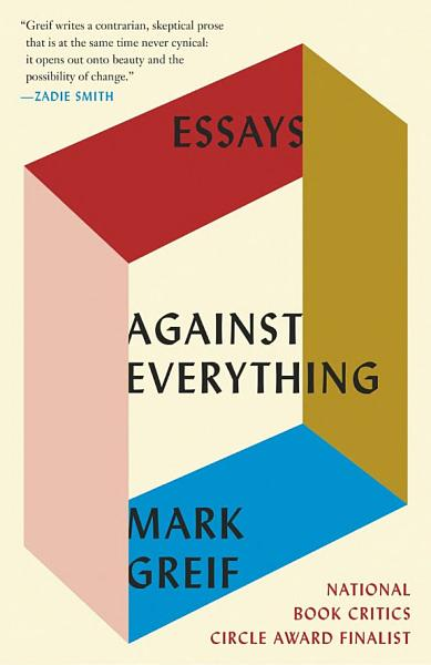 Download Against Everything Book