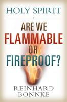 Holy Spirit Are We Flammable or Fireproof  PDF