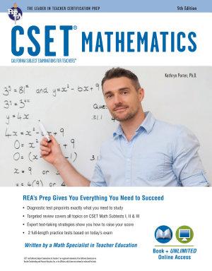 CSET Mathematics Book   Online