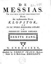 De Messias...: na de tweede hoogduitsche uitgave in nederduyts onrym vertaald