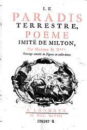Le paradis terrestre, poeme inite di Milton, par Madame D. B+++.