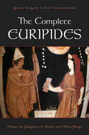The Complete Euripides Volume II Electra and Other Plays PDF