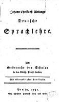 Deutsche Sprachlehre PDF