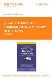 Mosby's Pharmacology Memory NoteCards - E-Book: Visual, Mnemonic, and Memory Aids for Nurses, Edition 5