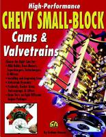 How to Build High Performance Chevy Small Block Cams Valvetrains PDF