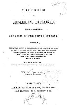 Mysteries of Bee keeping Explained PDF