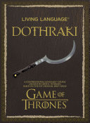 Download Living Language   Dothraki Book