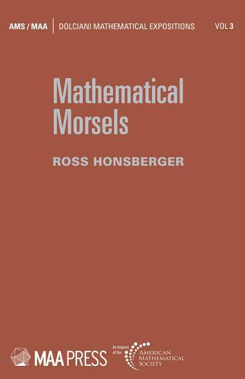 Mathematical Morsels PDF
