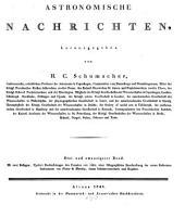 Astronomische Nachrichten: Volume 23