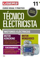 Técnico electricista 11 - Motores eléctricos: Curso visual y práctico