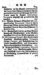 Europäische Staats-Cantzley: darinnen zum Behuff der neuesten politischen-, Kirchen- und Reichshistorie was sowohl in Religions-Angelegenheiten merckwürdiges vorgefallen als in Staats- und Reichs-Geschäfften vor kurztem abgehandelt worden und zum Vorschein gekommen ist, Band 33