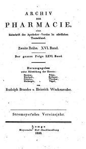 Archiv der Pharmazie und Berichte der Deutschen Pharmazeutischen Gesellschaft: Band 66
