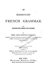 An Elementary French Grammar