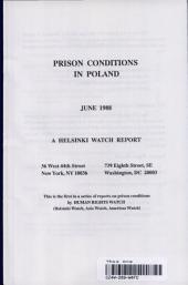 Prison Conditions in Poland