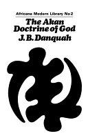 The Akan Doctrine Of God