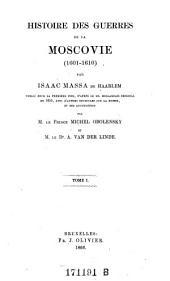 Histoire des Guerres de la Moscovie (1601-1610)