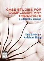 Case Studies for Complementary Therapists PDF