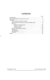 A revision of the genus G̲l̲y̲c̲i̲n̲e̲ and its immediate allies