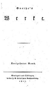 Goethe's Werke ...