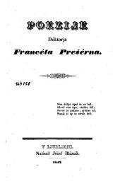 Poezije Francéta Prešérna