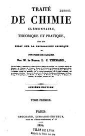 Traité de chimie élémentaire, théorique et pratique