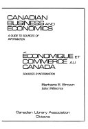 Canadian Business and Economics