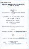 Longshore Harbor Workers  Compensation Act PDF