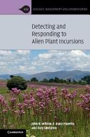 Detecting and Responding to Alien Plant Incursions PDF
